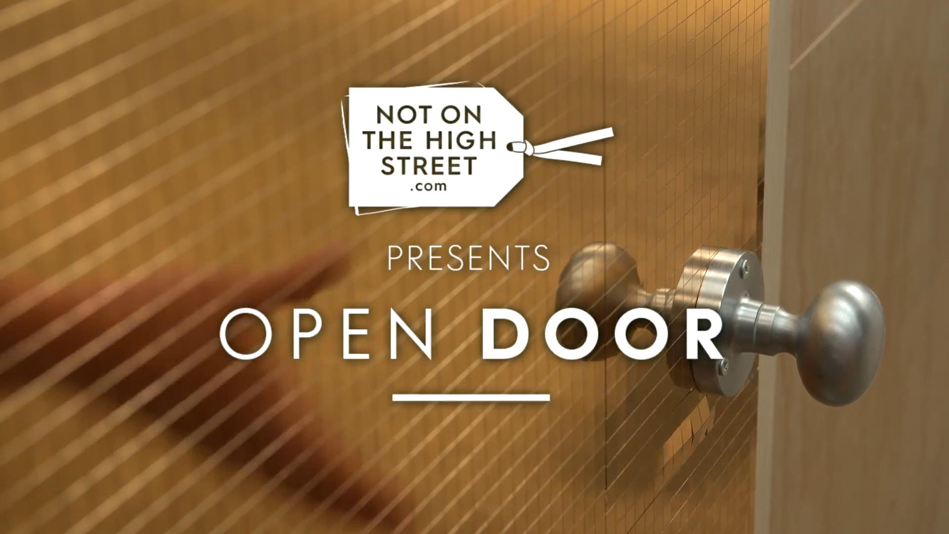 Notonthehighstreet.com – Open Door